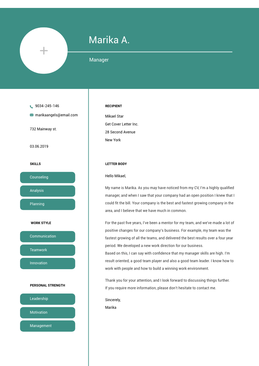Custodian Cover Letter Sample Template 2020 Getcoverletter