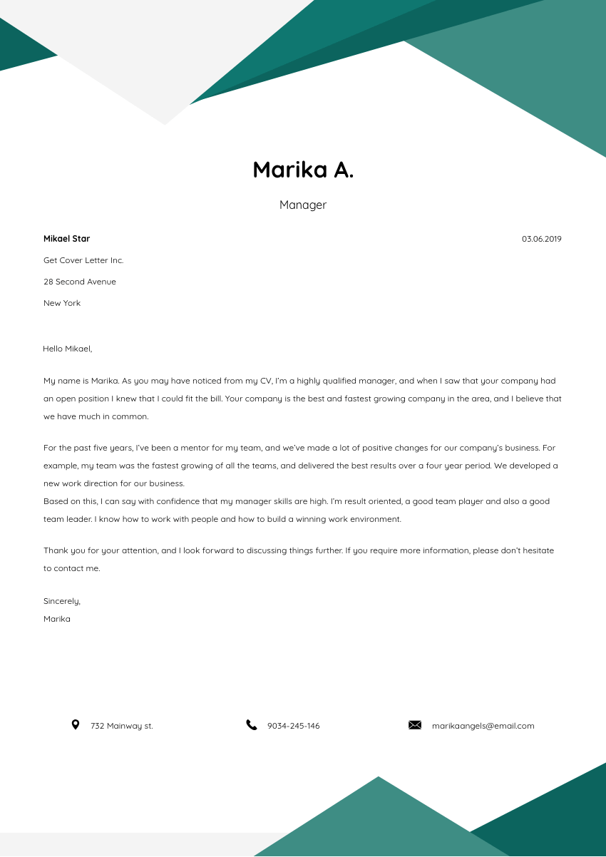 mental health counselor cover letter sample  u0026 template